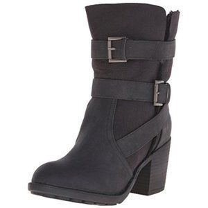 REPORT Yurick Shearling Lined Fold-Over Ankle Boot